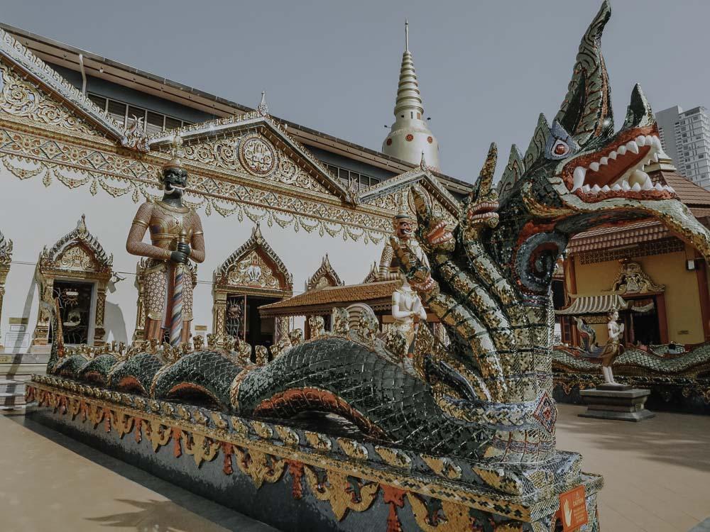 Penang - Die 5 schönsten Tempel -Wat Chayamangkalaram
