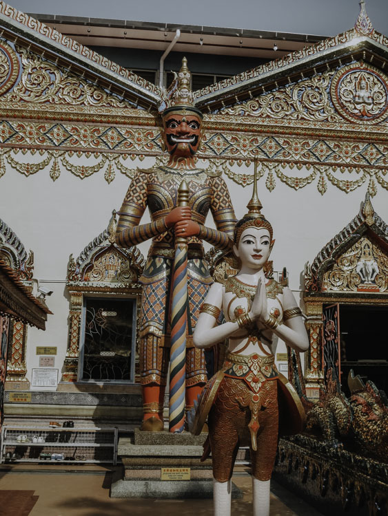 Wat Chayamangkalaram Malayisa
