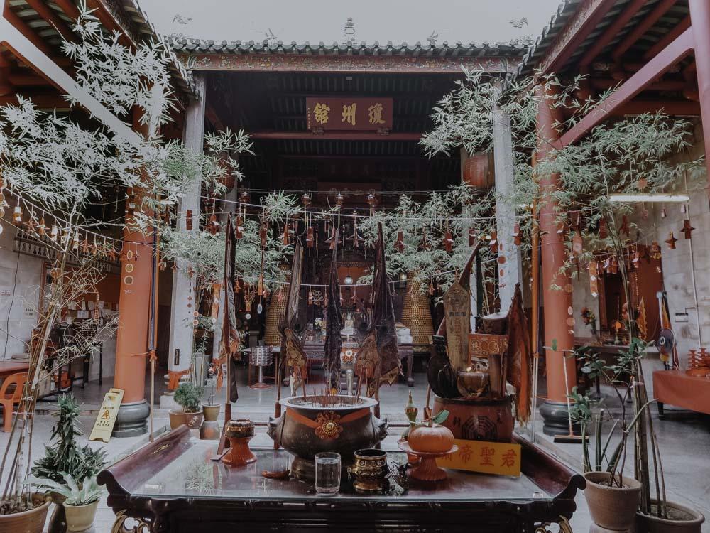 Penang - Die 5 schönsten Tempel - Hainan Tempel