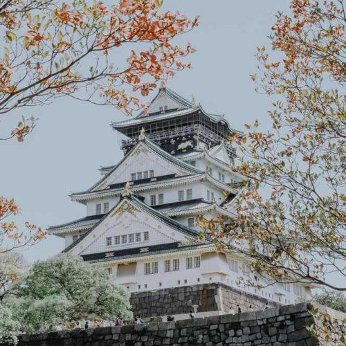 Sehenswürdigkeiten in Osaka -Osaka Castle