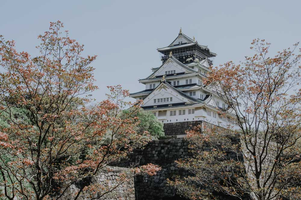 Die schönsten Sehenswürdigkeiten in Osaka - Osaka Castle