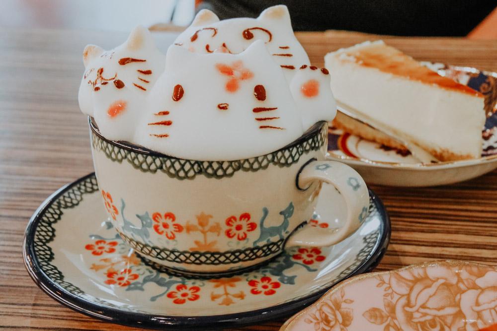 Latte Art im My Cofi in Kaohsiung Taiwan