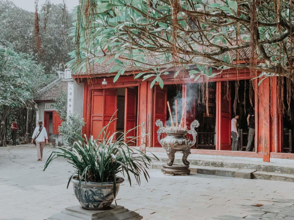 geniale Plätze in Hanoi: Ngoc Son Temple