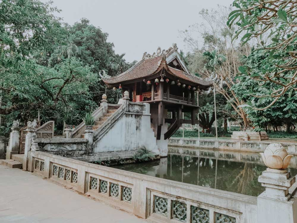 geniale Plätze in Hanoi: One Pillar Pagoda
