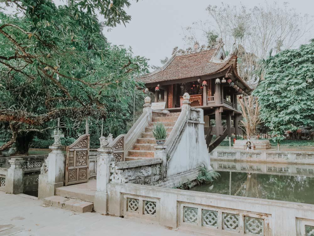 geniale Plätze in Hanoi:Einsäulenpagode