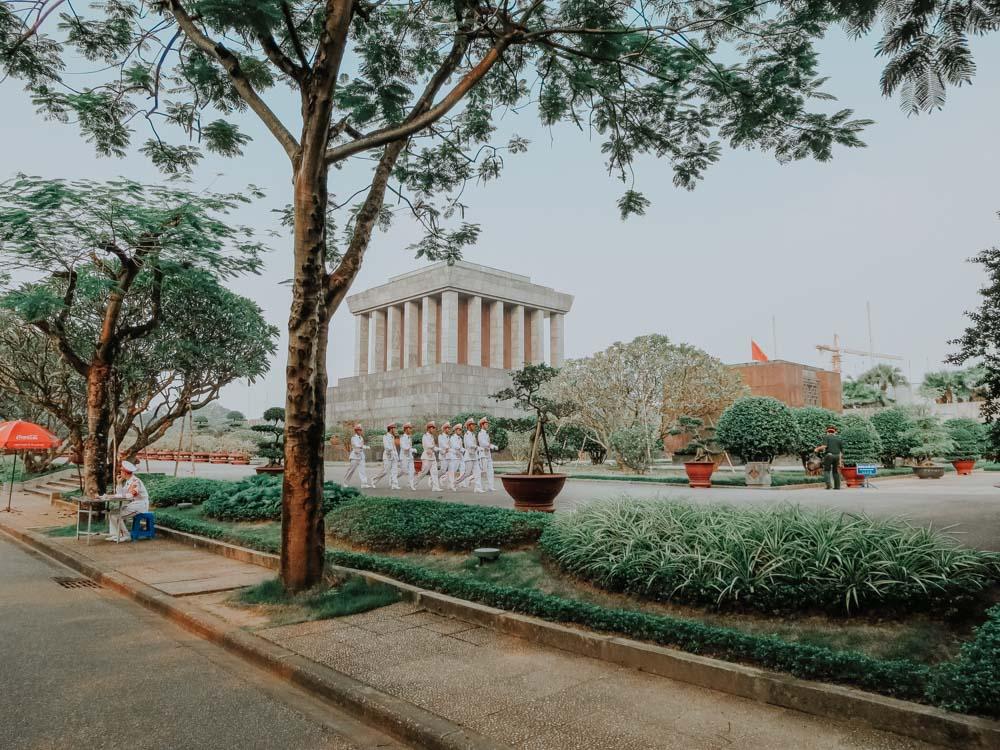 Ho Chi Minh Mausoleumoi in Hanoi