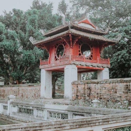geniale Plätze in Hanoi: Temple of Literature