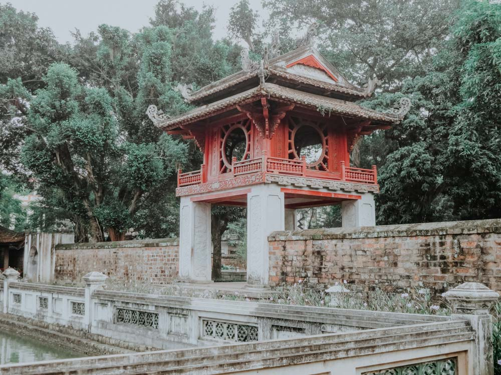 geniale Plätze in Hanoi: Temple of Literature