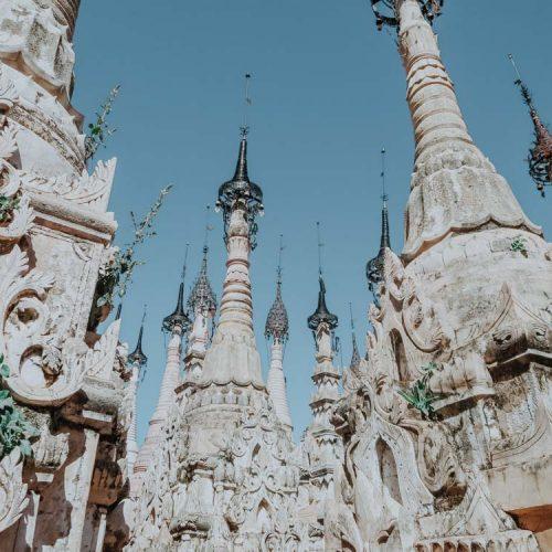Stupas von Kako ein echter Geheimtipp in Myanmar