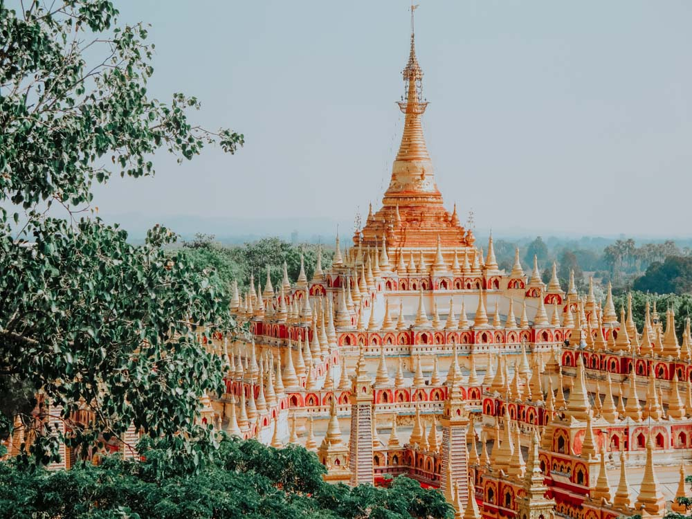 Myanmar Geheimtipps Thanboddhay Pagode