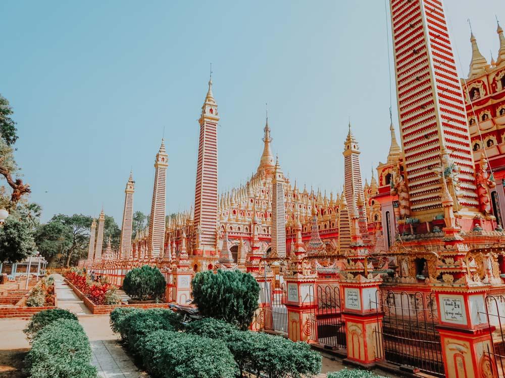 Myanmar Geheimtipps Thanboddhay Pagode in Monywa