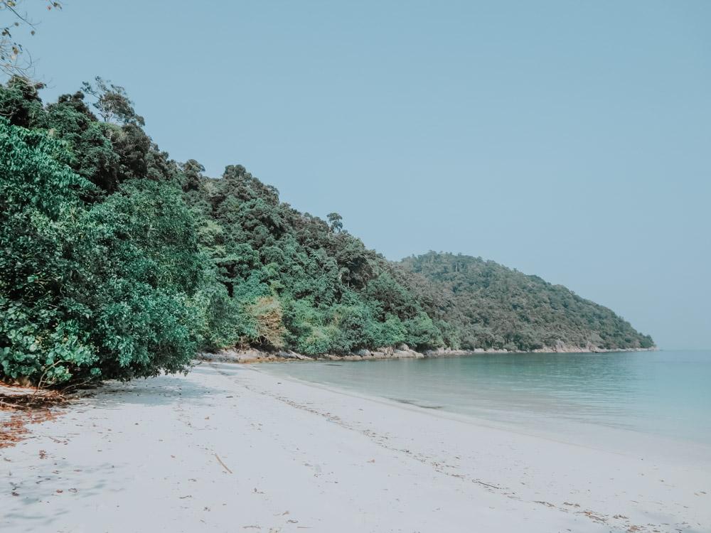 Einsame Insel im Myeik Archipel