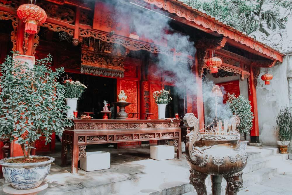 Der Quan Thanh Temple zählt zu den genialen Plätzen in Hanoi