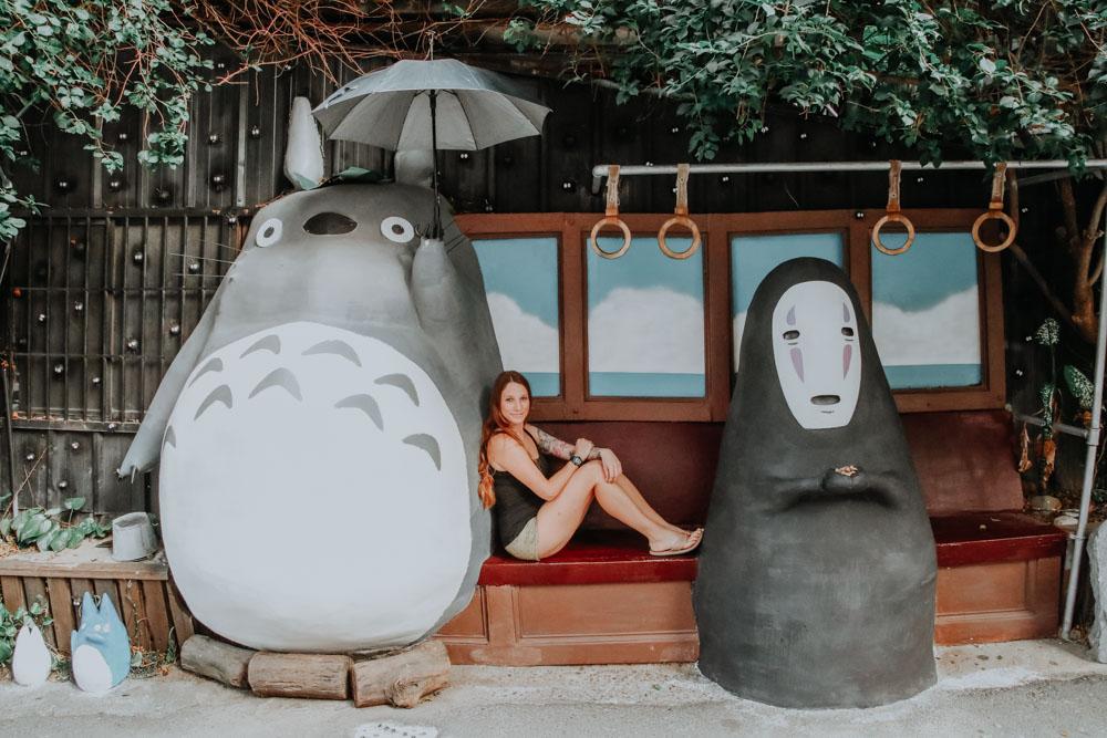 Meet Totoro in Taiwan: Totoro Bus Stop Taichung
