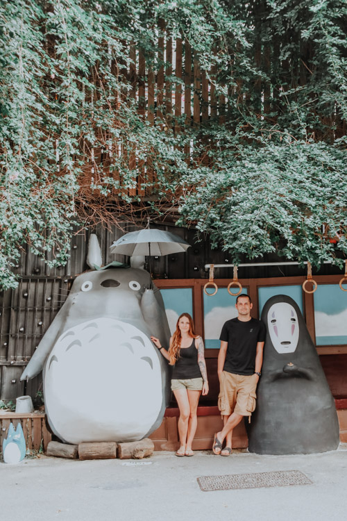 Totoro Bus Stop in Taichung