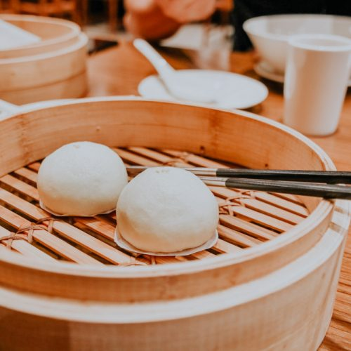 Sesame buns im Din Tai Fung