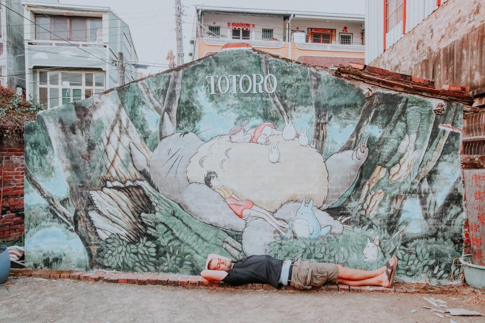 Meet Totoro in Taiwan - Danei Totoro Village