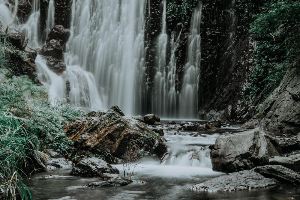 Shuiliandong Waterfall in Taiwan