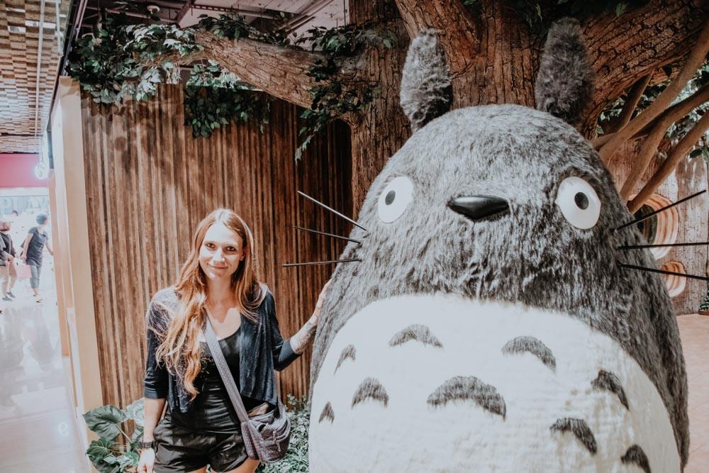 Totoro im Donguri Republic Store in Taipeh