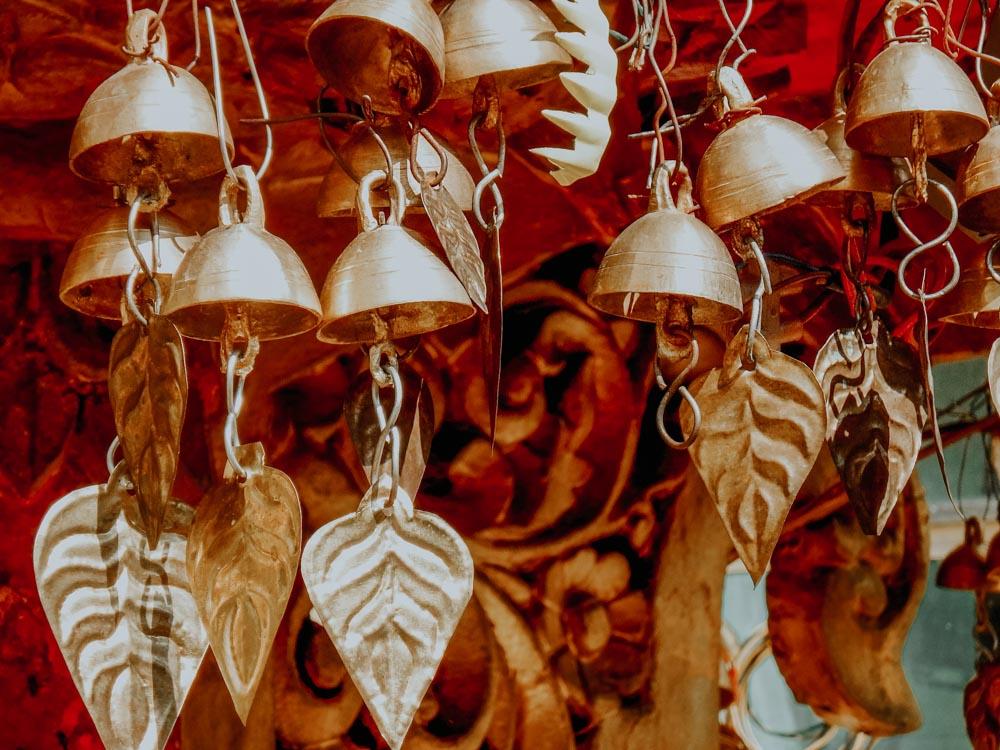 Glöckchen in der Sule Pagode in Yangon Myanmar