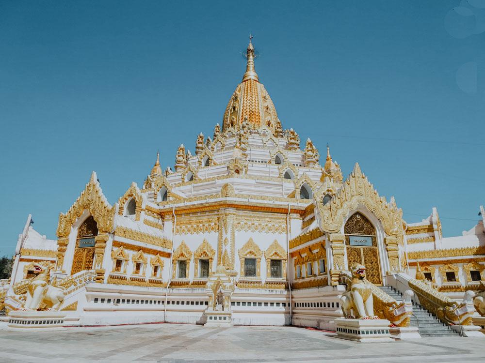 Must sees in Myanmar: Maha-Wizaya-Pagode in Yangon