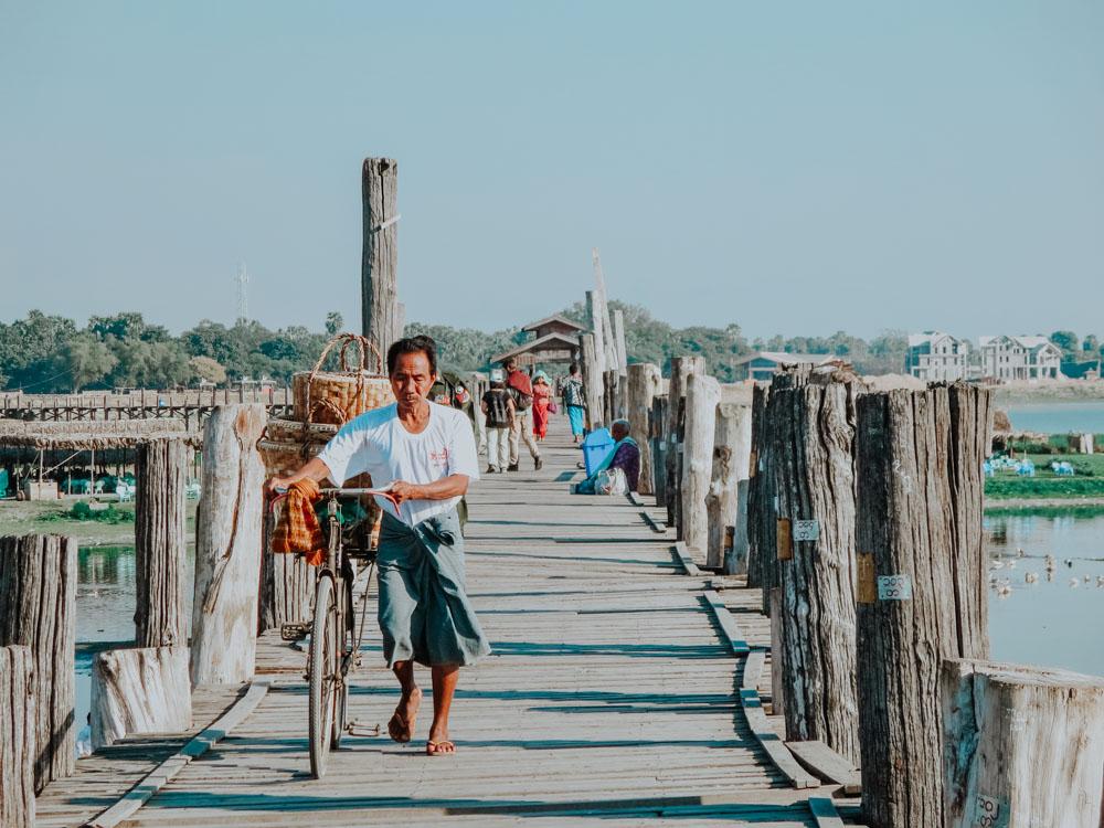 Must sees in Myanmar: U-Bein-Brücke