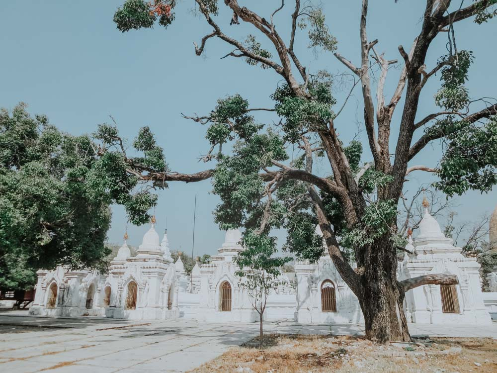 Must sees in Myanma: rKuthadaw Pagode in Mandalay
