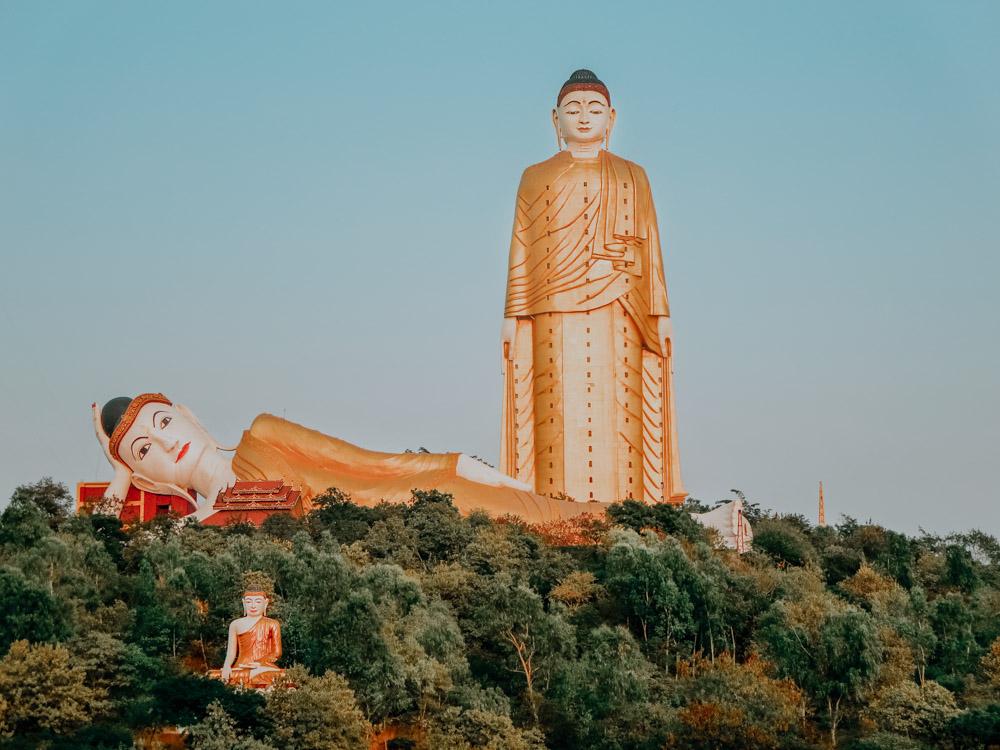 Must sees in Myanmar: Alle drei Buddha-Figuren von Bodhi Tataung
