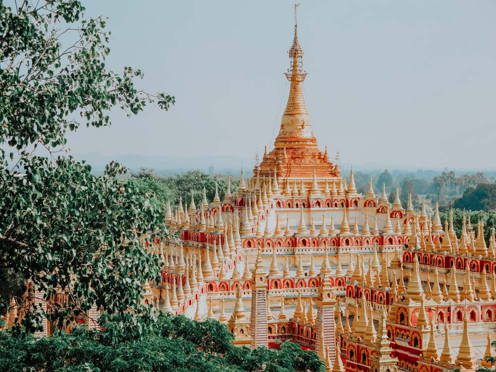 Must sees in Myanmar: Thanboddhay Pagode