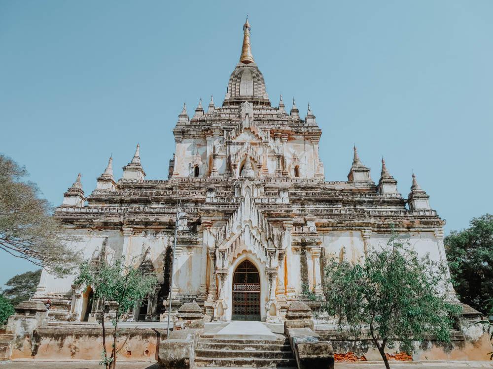 Must sees in Myanmar: Gawdawpalin Temple Pagode in Old Bagan