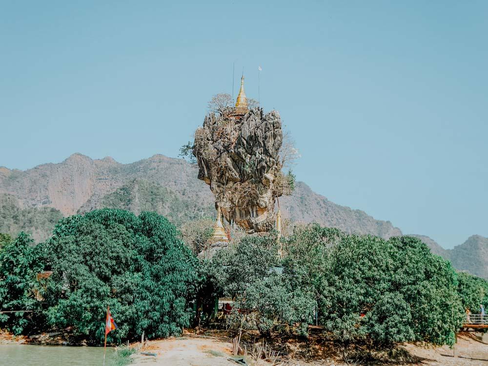 Must sees in Myanmar: Kyauk-Kalap Pagode