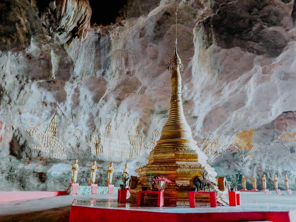 Ya Thet Pyan Höhle in Hpa-An