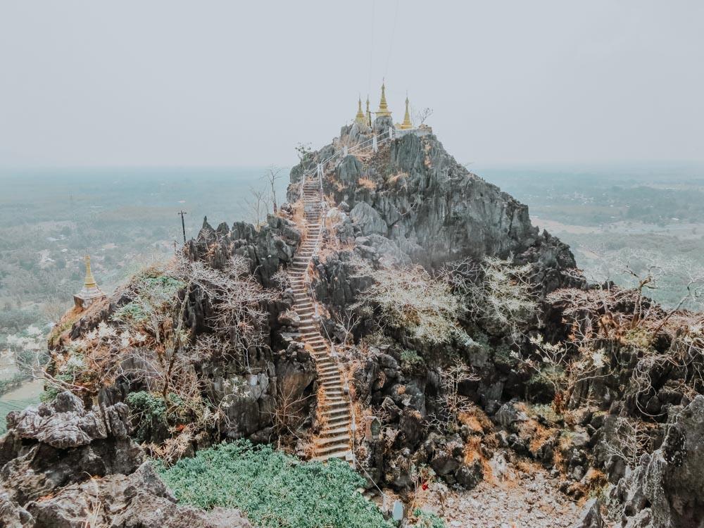 Must sees in Myanmar: Kyauktalon–Kyaung Pagode