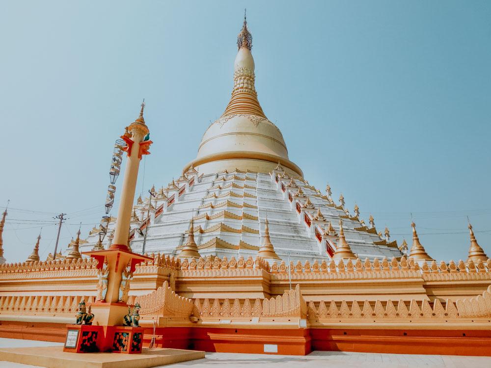 Must sees in Myanmar: Mahazedi-Pagode in Bago