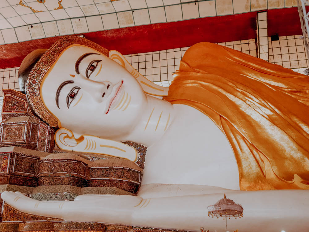 Shwethalyaung Buddha-Statue in Bago