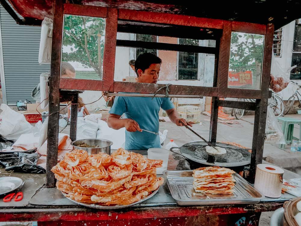 fritierter Snack Myanmar