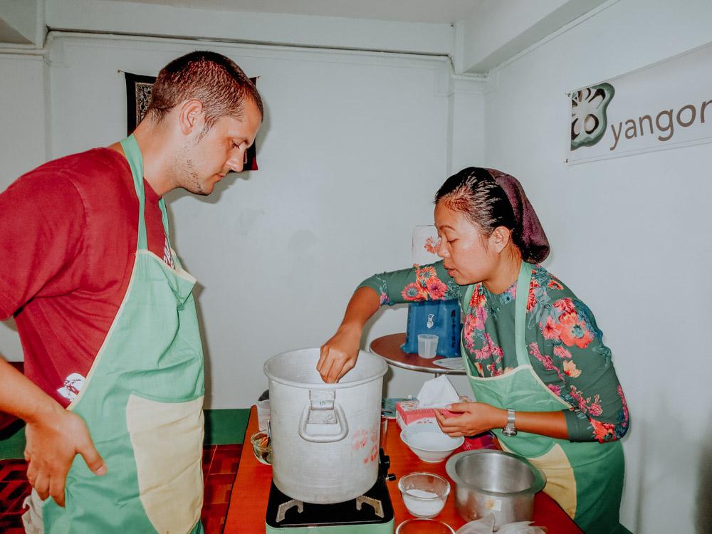 Yangon Food Tours Cooking Class Yangon Myanmar