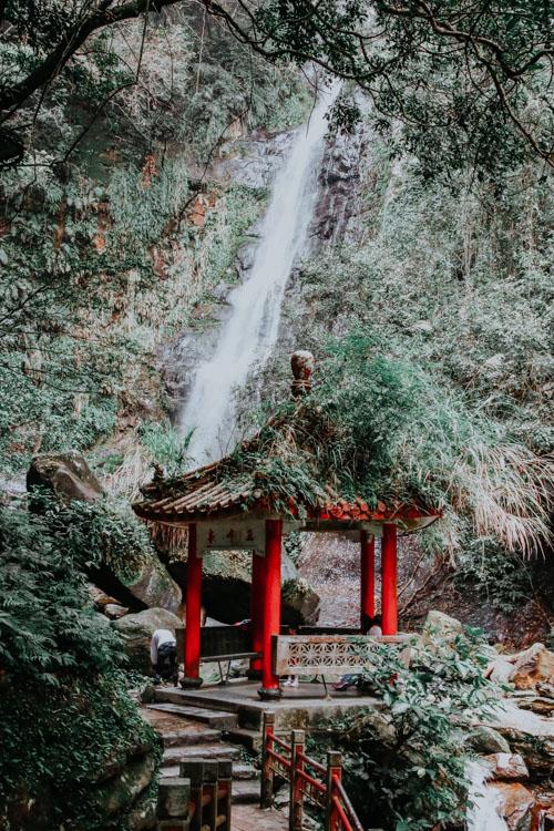Taiwan Wufengqi Waterfall