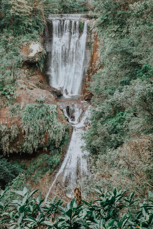 Hegu Waterfall am Sandiaoling Waterfall Trail
