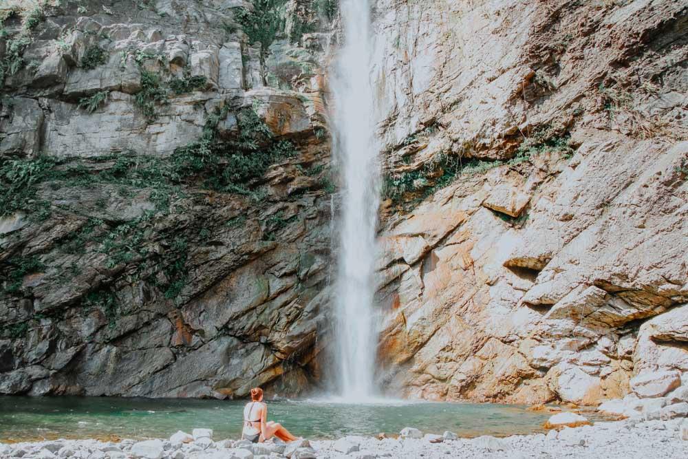 Long Dragon Waterfall in Taiwan