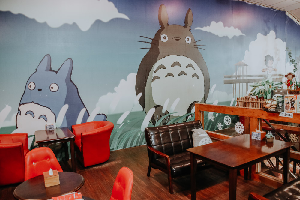 Totoro Cafe in Taichung