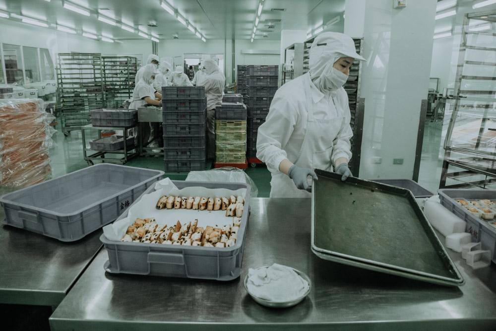 Produktion im Castella Land in Taoyuan