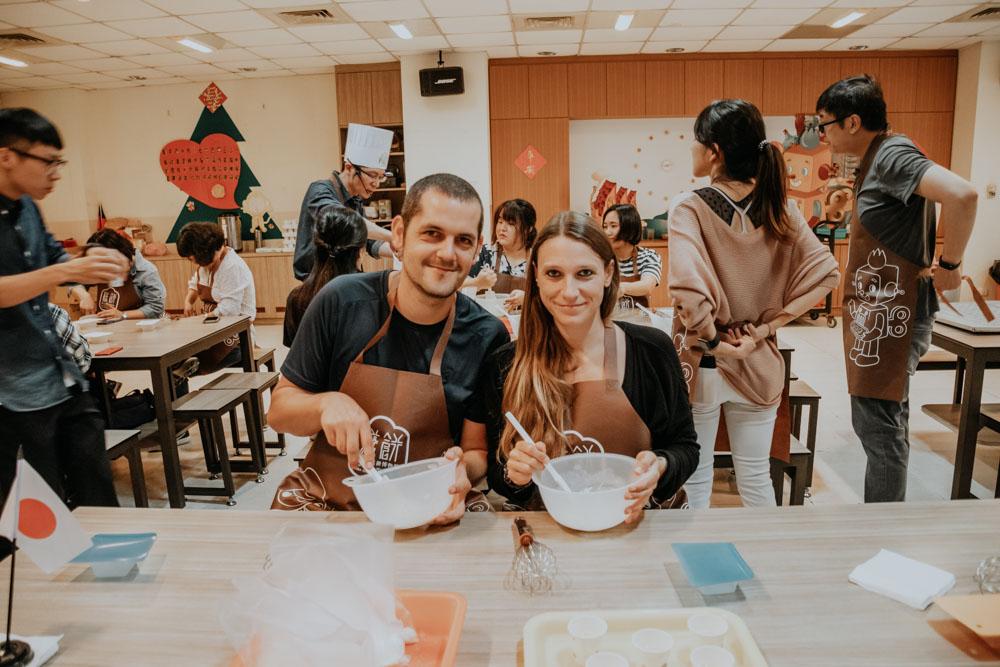 DIY Workshop in Taiwan: DIY Workshops Taiwan - Pinapple Cake Workshop in Taipeh