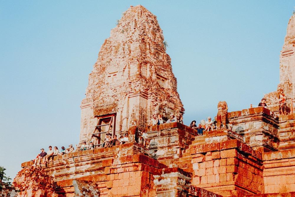Sonnenuntergang Angkor - Pre Rup