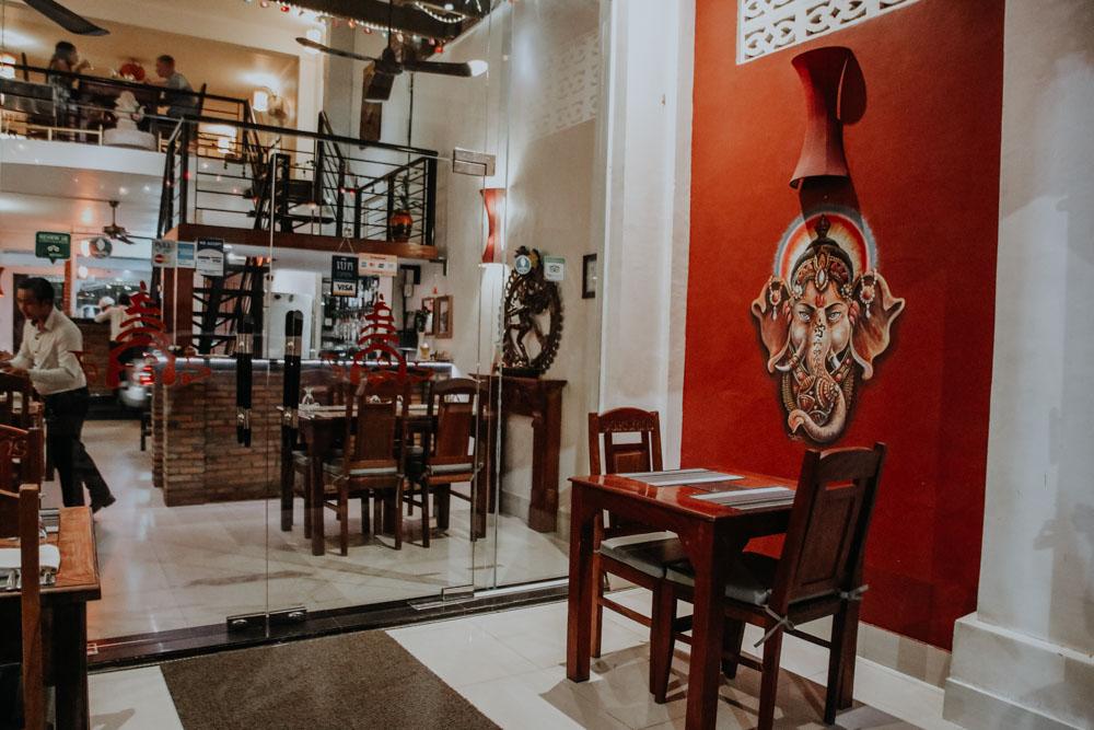 Dakshin's Restaurant in Siem Reap