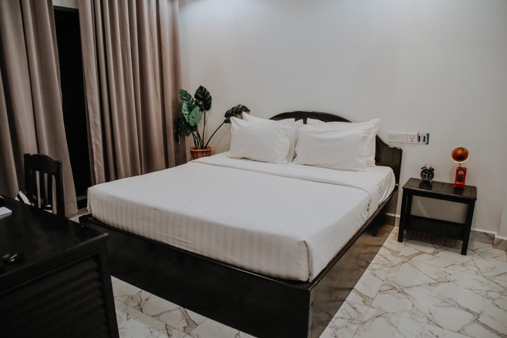 Zimmer im Popular Hotel im Siem Reap