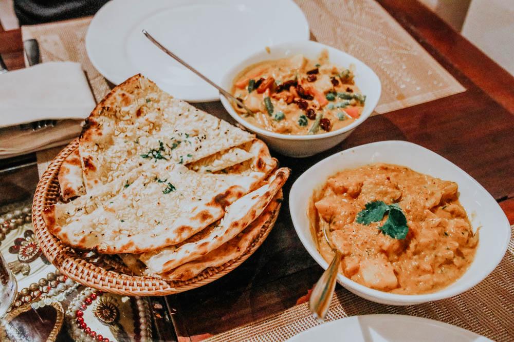 Essen im Dakshin's Restaurant in Siem Reap