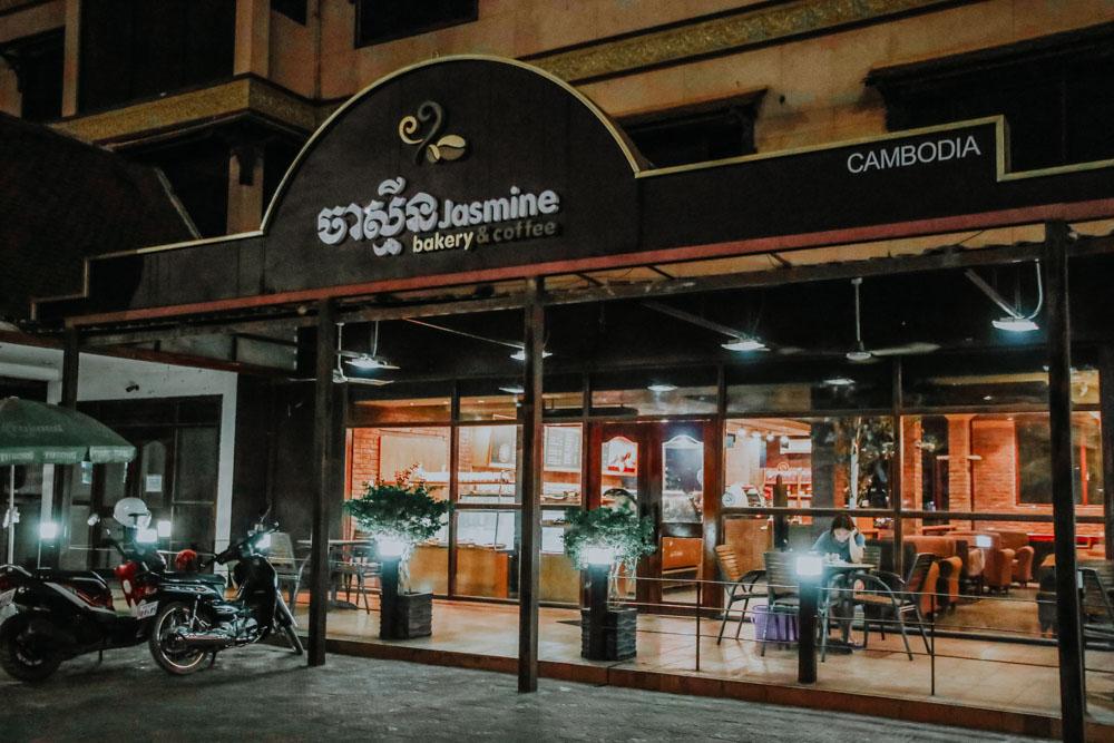 Wo essen und schlafen in Siem Reap - Yasmin Bakery