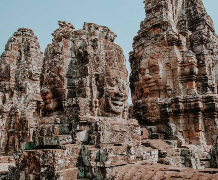 schönsten Tempel in Angkor - Bayon