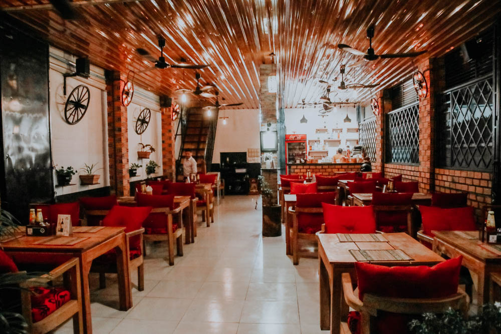 Try Me Restaurant in Siem Reap Kambodscha